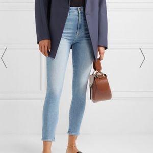 Frame Denim Jeans Ali High Rise Cigarette Riptide